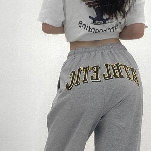 Athletic High Waist Sport Pants 1 - My Sweet Outfit - EGirl Outfits - Soft Girl Clothes