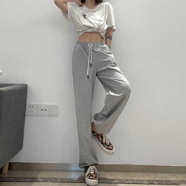 Athletic High Waist Sport Pants 4 - My Sweet Outfit - EGirl Outfits - Soft Girl Clothes
