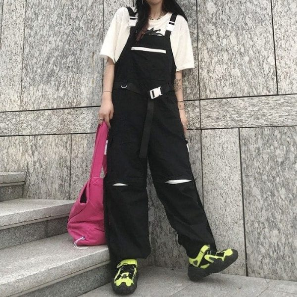 Harajuku Hip-Hop Detachable Romper 2 - My Sweet Outfit - EGirl Outfits - Soft Girl Clothes