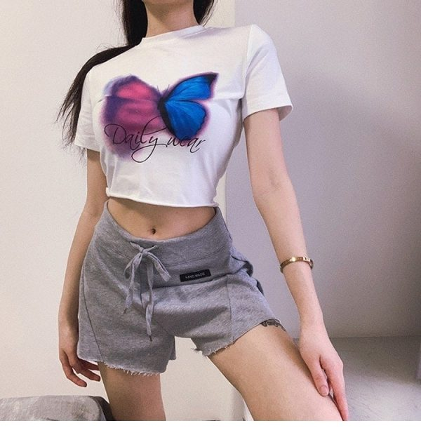 High Waist Home Shorts 3 - My Sweet Outfit - EGirl Outfits - Soft Girl Clothes