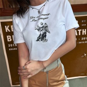 I`m Baroque Sculpture T-Shirt 2 - My Sweet Outfit - EGirl Outfits - Soft Girl Clothes
