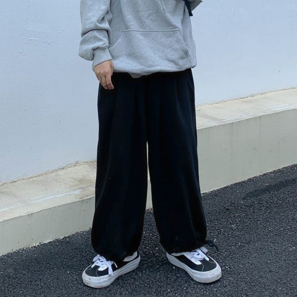Pink High Waist Straight Wide Pants 4 - My Sweet Outfit - EGirl Outfits - Soft Girl Clothes