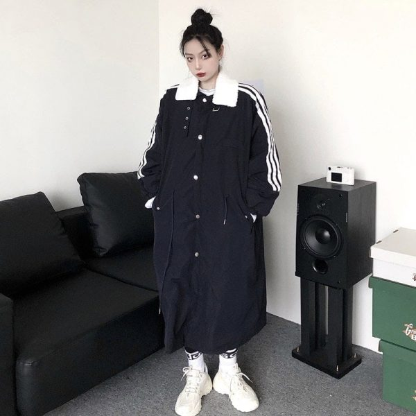 Stand-up Collar Warm Coat 1 - My Sweet Outfit - EGirl Outfits - Soft Girl Clothes