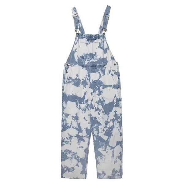 Tie-Dye Wide-Leg Jumpsuit 5 - My Sweet Outfit - EGirl Outfits - Soft Girl Clothes