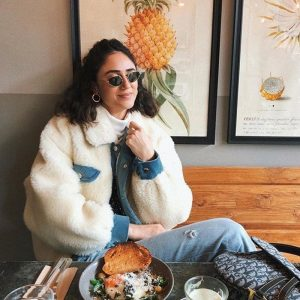 Warm Fluffy Collar Jacket 3 - My Sweet Outfit - EGirl Outfits - Soft Girl Clothes