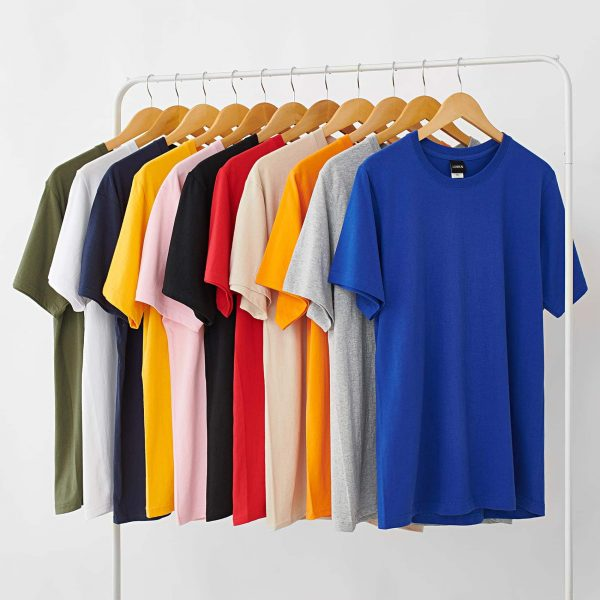 Сotton Solid Color Round Neck Loose T-shirt 1 - My Sweet Outfit - EGirl Outfits - Soft Girl Clothes Aesthetic - Grunge Fashion Grime Hip Emo Rap Trap