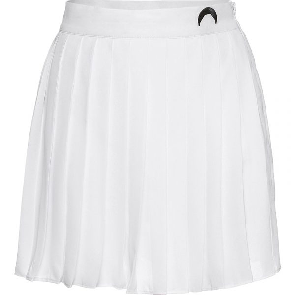 Crescent Print White Pleated Skirt 4 - My Sweet Outfit - EGirl Outfits - Soft Girl Clothes Aesthetic