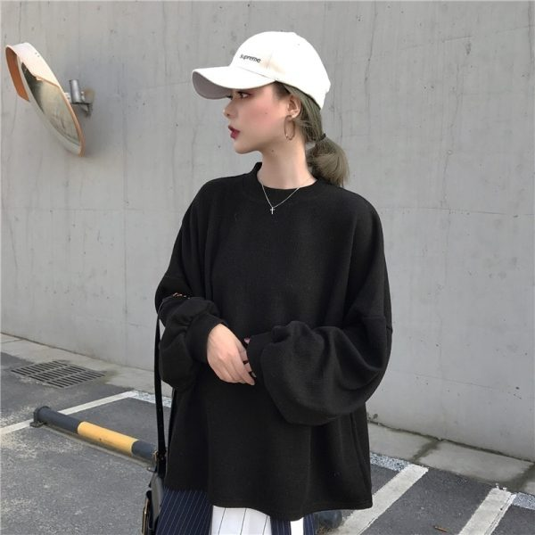 Egirl Aesthetic Student Sweatshirt 3 - My Sweet Outfit - EGirl Outfits - Soft Girl Clothes Aesthetic - Grunge Fashion Grime Hip Emo Rap Trap