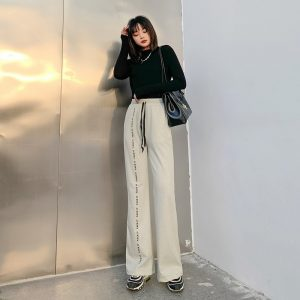 Face It Soft Girl Loose Straight Leg Pants 2 - My Sweet Outfit - EGirl Outfits - Soft Girl Clothes Aesthetic - Grunge Fashion Grime Hip Emo Rap Trap