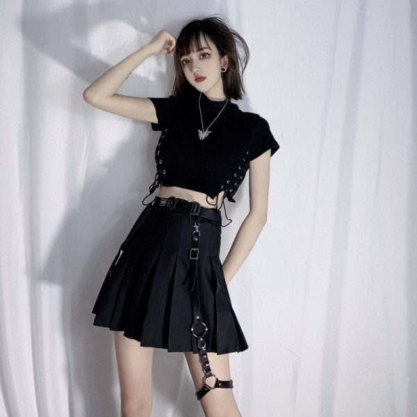 Goth Style Garter For Skirt 1 - My Sweet Outfit - EGirl Outfits - Soft Girl Clothes Aesthetic - Grunge Fashion Grime Hip Emo Rap Trap