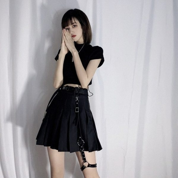 Goth Style Garter For Skirt 4 - My Sweet Outfit - EGirl Outfits - Soft Girl Clothes Aesthetic - Grunge Fashion Grime Hip Emo Rap Trap