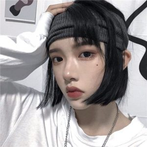 Knitted Ribbed Sports Unisex Headband 2 - My Sweet Outfit - EGirl Outfits - Soft Girl Clothes Aesthetic - Grunge Fashion Grime Hip Emo Rap Trap