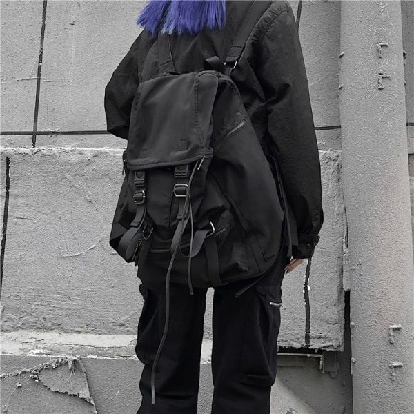Large Student Drawstring Backpack 2 - My Sweet Outfit - EGirl Outfits - Soft Girl Clothes Aesthetic