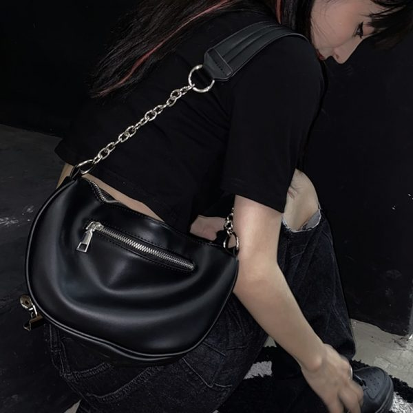 Regular Shoulder Bag With Chain 1 - My Sweet Outfit - EGirl Outfits - Soft Girl Clothes Aesthetic
