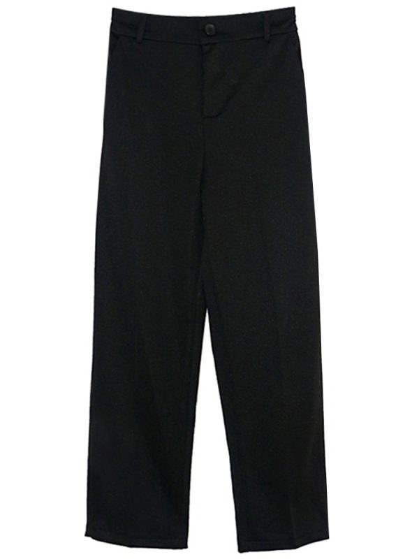 Short Classic Straight Trousers-Pants 2 - My Sweet Outfit - EGirl Outfits - Soft Girl Clothes Aesthetic