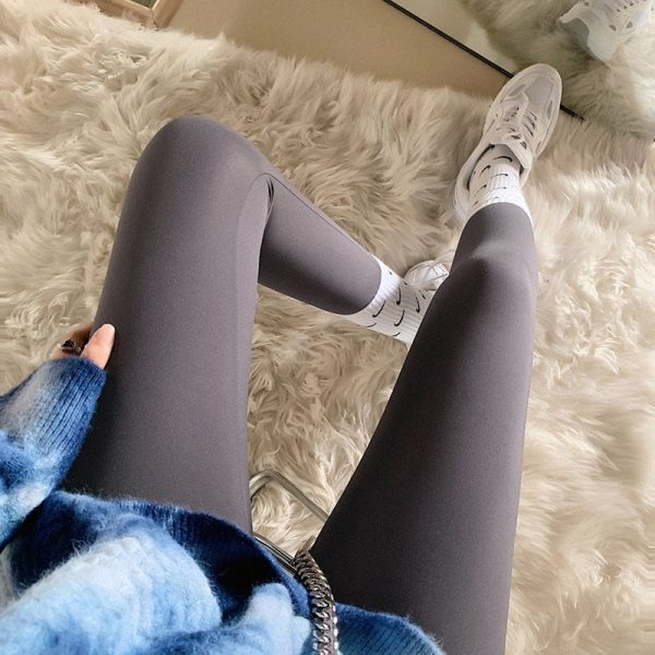 Slim High Waist Stretch Leggings 4 - My Sweet Outfit - EGirl Outfits - Soft Girl Clothes Aesthetic (3)
