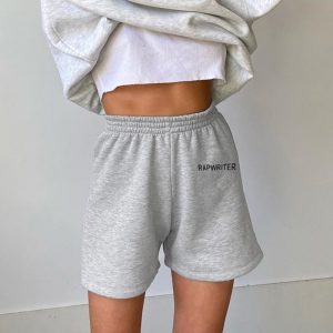 Straight All Match Homewear Shorts 1 - My Sweet Outfit - EGirl Outfits - Soft Girl Clothes Aesthetic - Grunge Fashion Tumblr Hip Emo Rap Trap