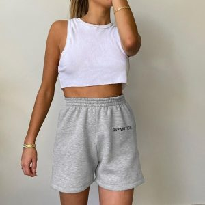 Straight All Match Homewear Shorts 2 - My Sweet Outfit - EGirl Outfits - Soft Girl Clothes Aesthetic - Grunge Fashion Tumblr Hip Emo Rap Trap
