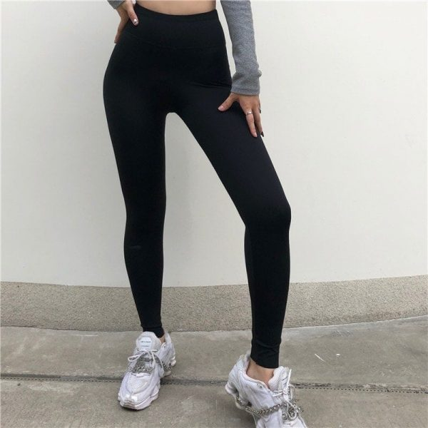Street Style Skinny Sport Leggings 5 - My Sweet Outfit - EGirl Outfits - Soft Girl Clothes Aesthetic - Grunge Fashion Tumblr Hip Emo Rap Trap