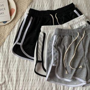 Stretched Casual Sleepwear Shorts For Home 2 - My Sweet Outfit - EGirl Outfits - Soft Girl Clothes Aesthetic