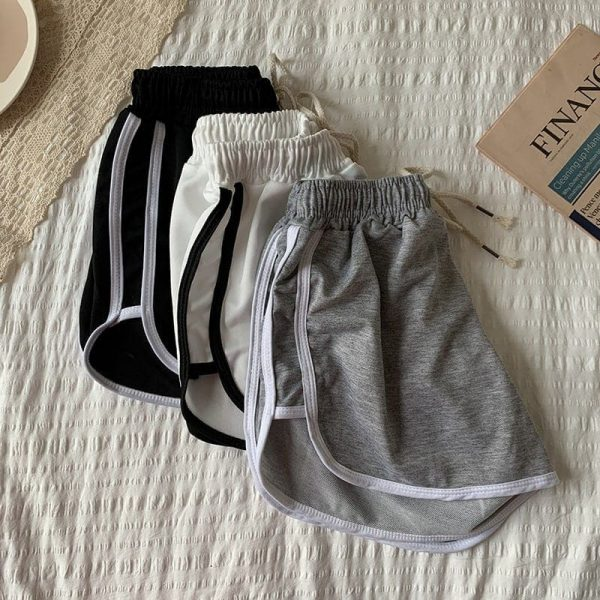 Stretched Casual Sleepwear Shorts For Home 3 - My Sweet Outfit - EGirl Outfits - Soft Girl Clothes Aesthetic