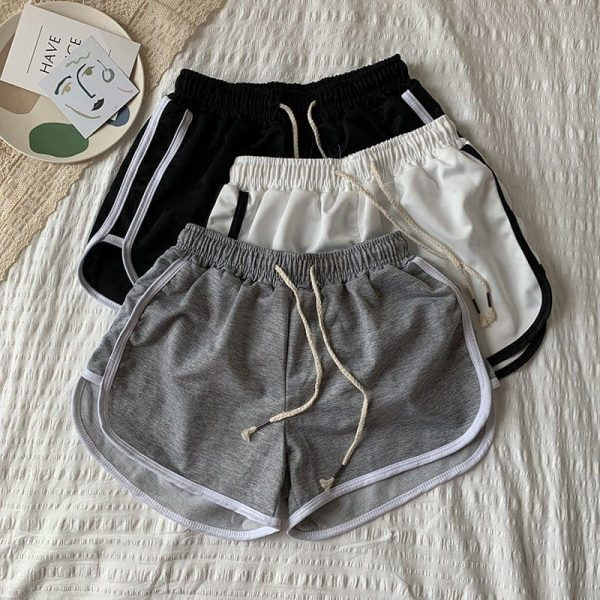 Stretched Casual Sleepwear Shorts For Home 4 - My Sweet Outfit - EGirl Outfits - Soft Girl Clothes Aesthetic