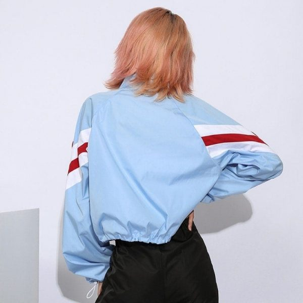 Super Hot Casual Drawstring Waist Jacket 2 - My Sweet Outfit - EGirl Outfits - Soft Girl Clothes Aesthetic - Grunge Fashion Grime Hip Emo Rap Trap