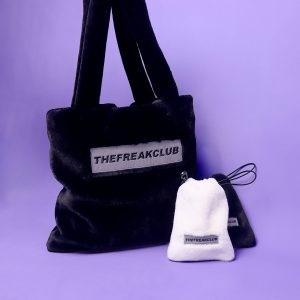 The Freakclub One Shoulder Cashmere Bag 2 - My Sweet Outfit - EGirl Outfits - Soft Girl Clothes Aesthetic