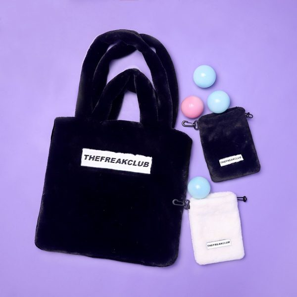 The Freakclub One Shoulder Cashmere Bag 3 - My Sweet Outfit - EGirl Outfits - Soft Girl Clothes Aesthetic