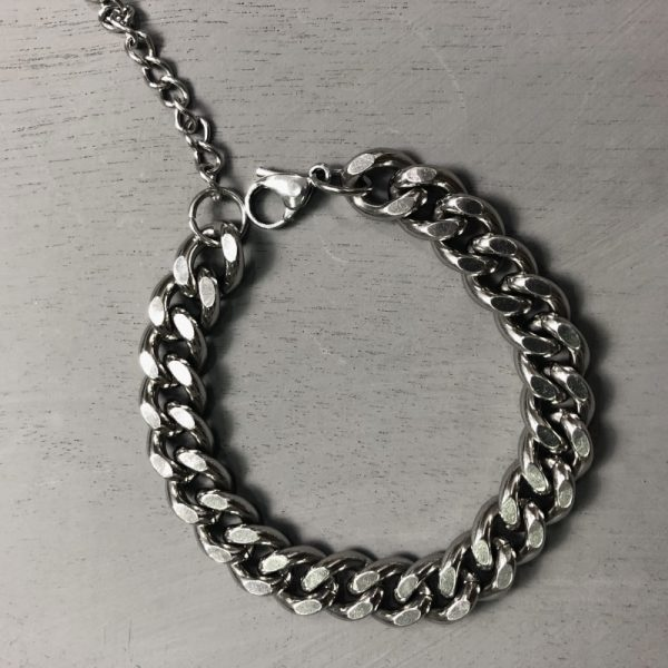 Trendy Thick Chain Bracelet 1 - My Sweet Outfit - EGirl Outfits - Soft Girl Clothes Aesthetic - Grunge Fashion Grime Hip Emo Rap Trap