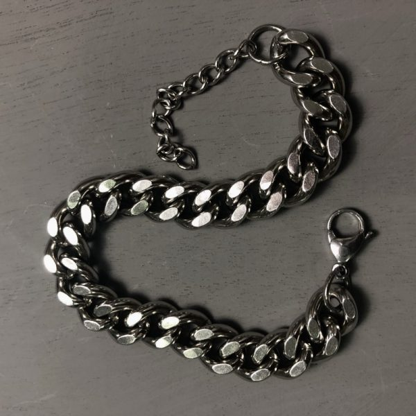 Trendy Thick Chain Bracelet 3 Trendy Thick Chain Bracelet 1 - My Sweet Outfit - EGirl Outfits - Soft Girl Clothes Aesthetic - Grunge Fashion Grime Hip Emo Rap Trap