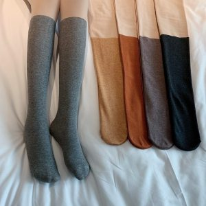 Warm Fake Socks Pantyhose 4 - My Sweet Outfit - EGirl Outfits - Soft Girl Clothes Aesthetic - Grunge Fashion Grime Hip Emo Rap Trap