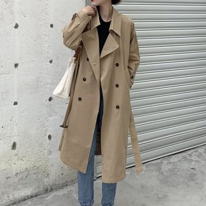 Retro Midi Double Breasted Coat (3) - My Sweet Outfit - EGirl Outfits - Soft Girl Clothes Aesthetic - Grunge Korean Fashion Tumblr Hip Emo Rap