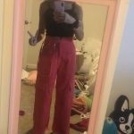 Casual Corduroy Side Pockets Straight Pants photo review