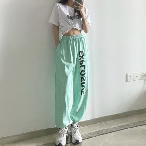 All Match High Waist Explosive Pants - My Sweet Outfit - eGirl Outfits - Soft Girl Clothes Aesthetic - Grunge Korean Artsy - Cosplay - Anime - Fashion itGirl - Rap Accessories 1
