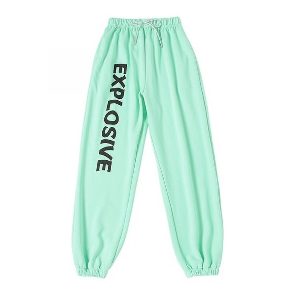 All Match High Waist Explosive Pants - My Sweet Outfit - eGirl Outfits - Soft Girl Clothes Aesthetic - Grunge Korean Artsy - Cosplay - Anime - Fashion itGirl - Rap Accessories 3