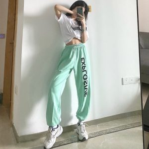 All Match High Waist Explosive Pants - My Sweet Outfit - eGirl Outfits - Soft Girl Clothes Aesthetic - Grunge Korean Artsy - Cosplay - Anime - Fashion itGirl - Rap Accessories 4
