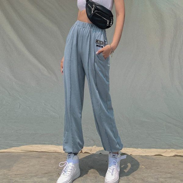 High-waisted eGirl Trousers - My Sweet Outfit - eGirl Outfits - Soft Girl Clothes Aesthetic - Grunge Korean Artsy - Cosplay - Anime - Fashion itGirl - Rap Accessories 1