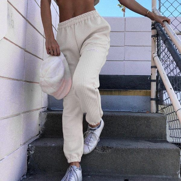 Textured Stretch eGirl Pants - My Sweet Outfit - eGirl Outfits - Soft Girl Clothes Aesthetic - Grunge Korean Artsy - Cosplay - Anime - Fashion itGirl - Rap Accessories 1