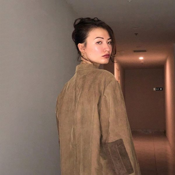Vintage Oversized Elbow Patched Jacket - My Sweet Outfit - eGirl - SoftGirl Clothes Aesthetic - Goth - Grunge - Vintage Black - Y2k - Fashion - itGirl (3)