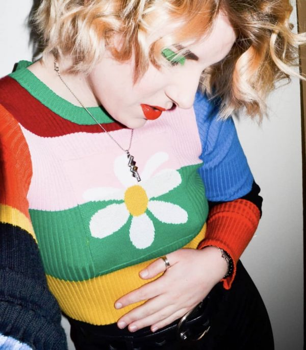 Indie Aesthetics Rainbow Long Sleeve Jumper 1 - My Sweet Outfit – eGirl – SoftGirl Clothes Aesthetic – Goth – Grunge – Vintage – Indie Clothing – Cottagecore – Y2k – Harajuku style – Softie