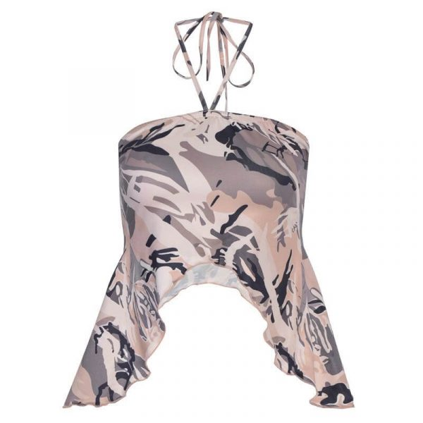 Lace Camouflage Chest Tube Baddie Top 4 - My Sweet Outfit - eGirl - SoftGirl Clothes Aesthetic - Goth - Grunge - Vintage - Indie Clothing -Cottagecore -Y2k - Harajuku style - Softie