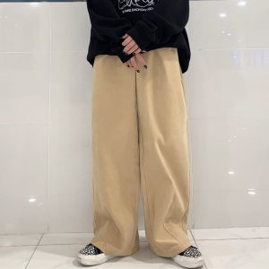 Baggy Y2K Aesthetic Elastic Waist Pants 1 - My Sweet Outfit - eGirl - SoftGirl Clothes Aesthetic - Goth - Grunge - Vintage - Indie Clothing - Cottagecore - Y2k - Harajuku style - Softie